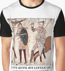 Bayeux Tapestry - I Spy With My Little Eye Something Beginning With 'A'  Graphic T-Shirt