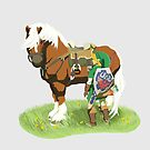 Link and Epona by DILLIGAFM8