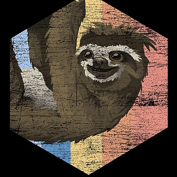 Sloth animal relatives by GeschenkIdee