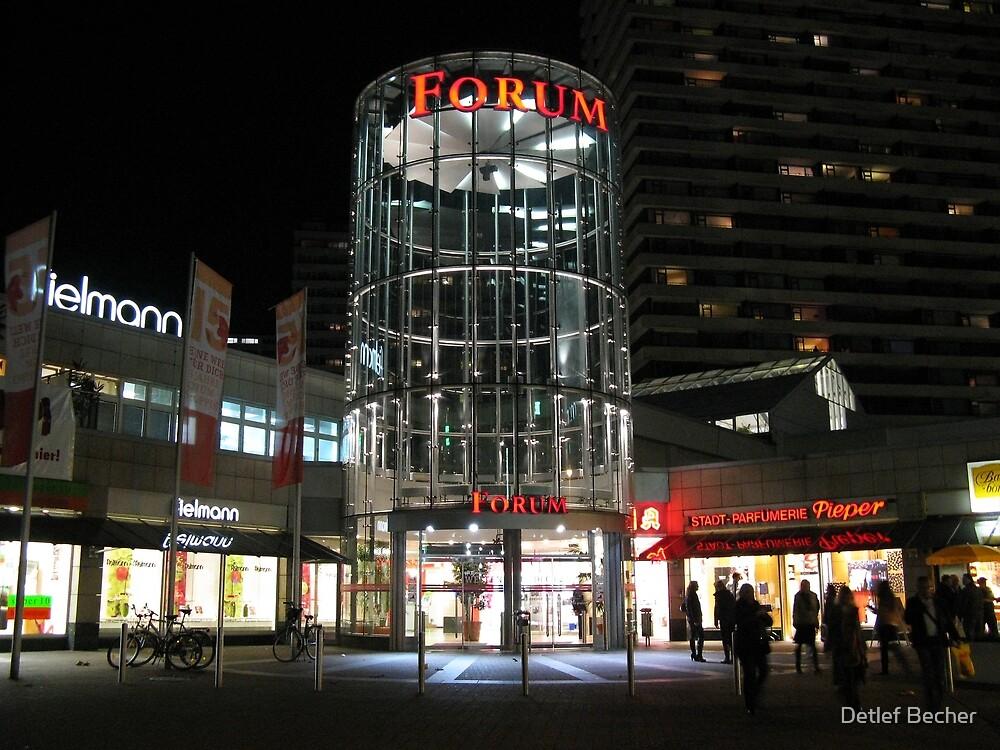 Shopping Mall by Detlef Becher