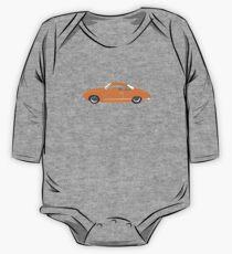 Orange Karmann Ghia One Piece - Long Sleeve