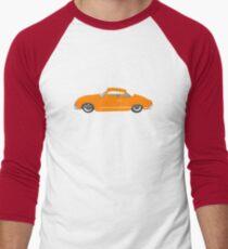 Orange Karmann Ghia Men's Baseball ¾ T-Shirt