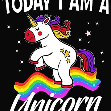 Today I am a unicorn by dtino