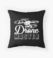 Drone Master | Drone Pilot Throw Pillow