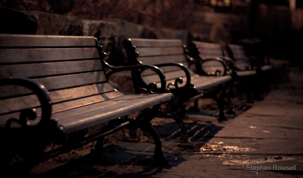 Benches of Bowring by Stephen Rowsell