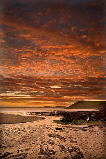 Celtic Clouds by Mark Robson