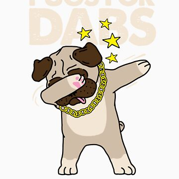 Pugs for dab gift by LikeAPig