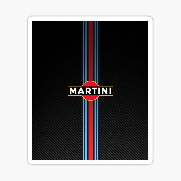 Martini Racing Stripes Sticker