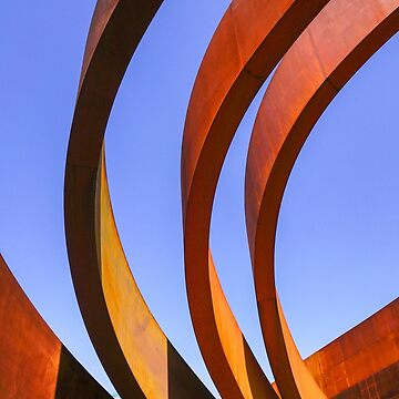 Exterior of the Design Museum Holon, Israel designed by Israeli architect and industrial designer Ron Arad in cooperation with Bruno Asa by PhotoStock-Isra
