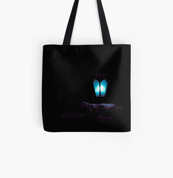 Light in the darkness All Over Print Tote Bag