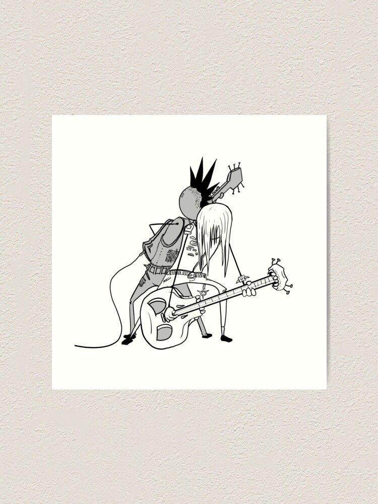 Impression artistique ''Duo Rock': autre vue