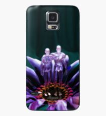 Dribbles Of Love (Blue) Case/Skin for Samsung Galaxy