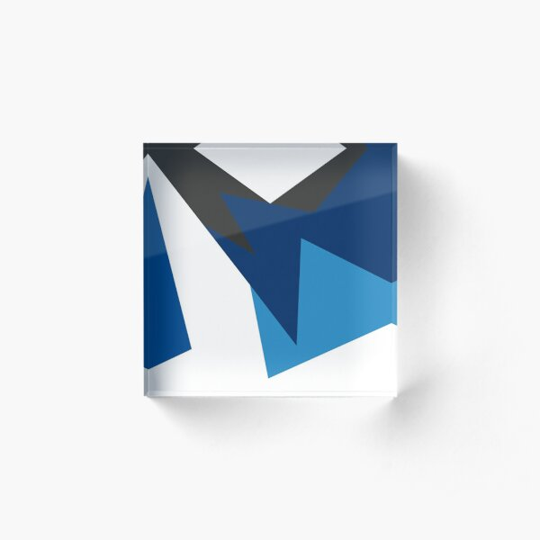 Jordan VII French Blue Acrylic Block