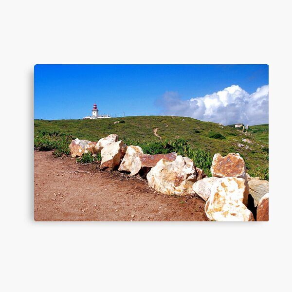 Cabo Roca, the lighthouse Canvas Print