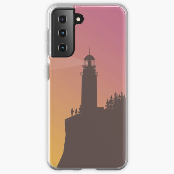 Life is Strange - Arcadia Bay Lighthouse with Chloe & Max Samsung Galaxy Soft Case
