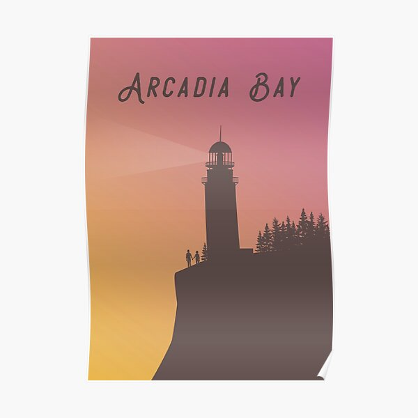 Life is Strange - Arcadia Bay Lighthouse with Chloe & Max Poster