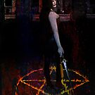 carving the pentagram by David Knight