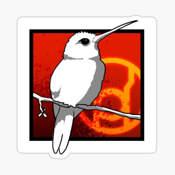 Icône Colibri Sticker