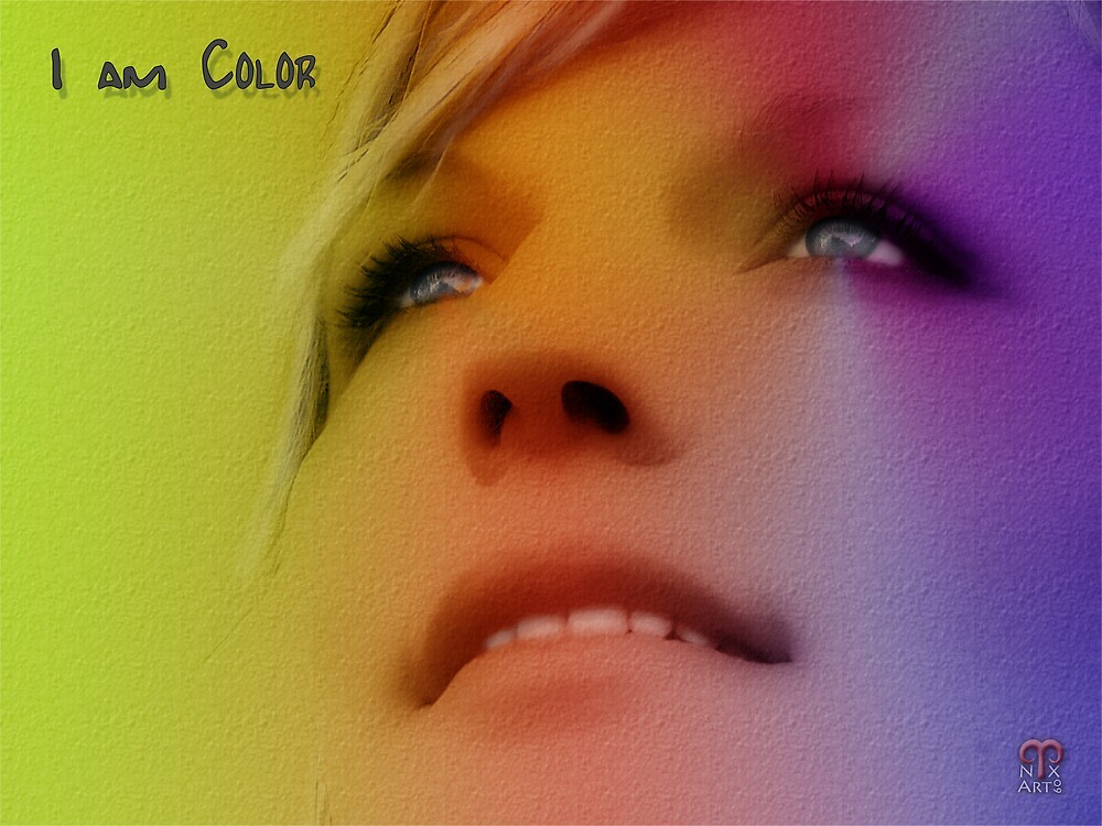 I Am Color by nixArt