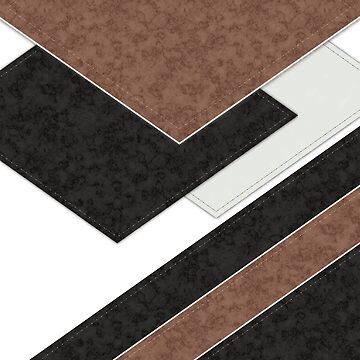 Black brown patchwork by fuzzyfox
