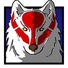 « Icône Loup » par nakiewicz