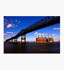 The Pulaski Skyway Photographic Print