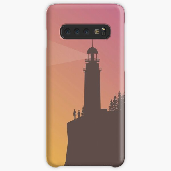 Life is Strange - Arcadia Bay Lighthouse with Chloe & Max Samsung Galaxy Snap Case