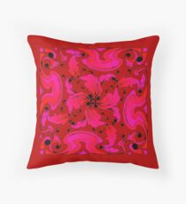 Ravishing Red Throw Pillow