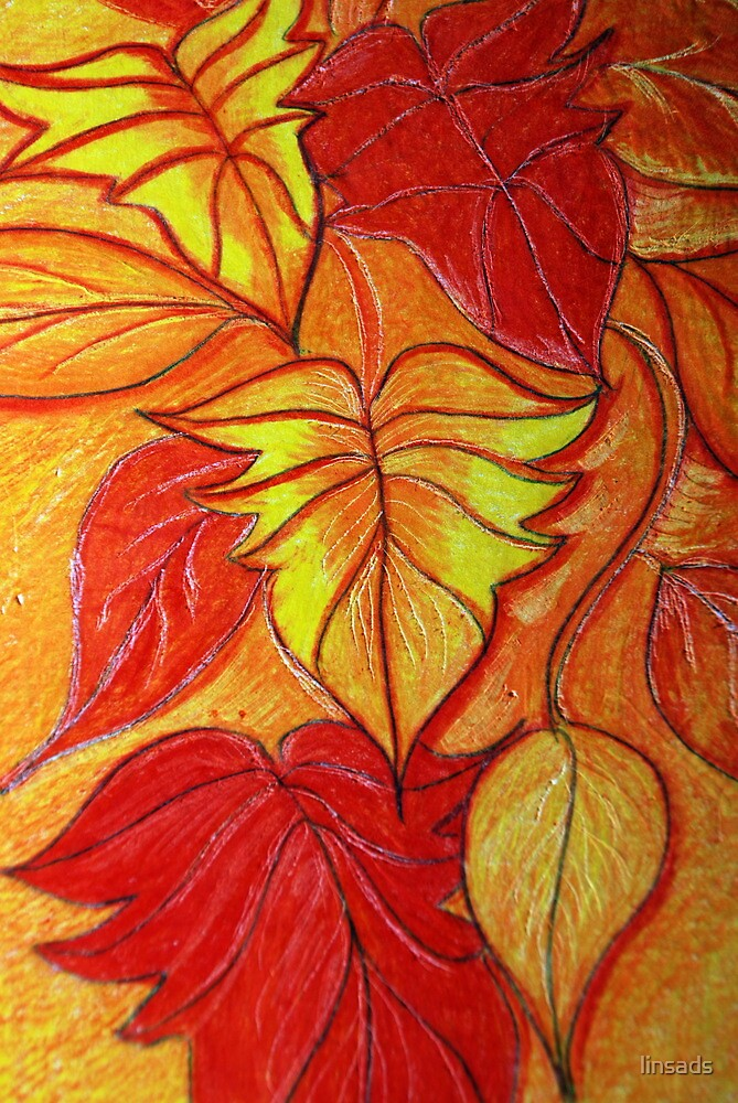 leaves by linsads