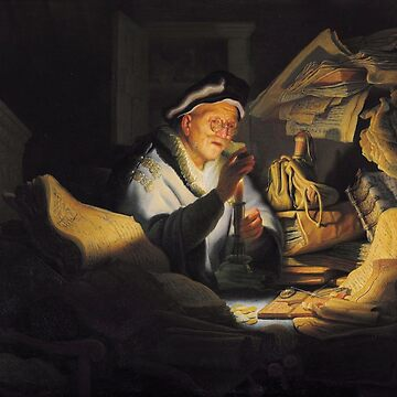 Rembrandt - The Parable of the Rich Fool by BestPaintings