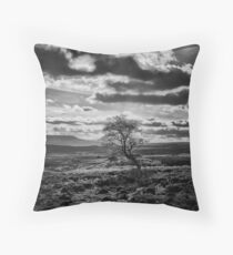 Survival of the pigheaded Throw Pillow