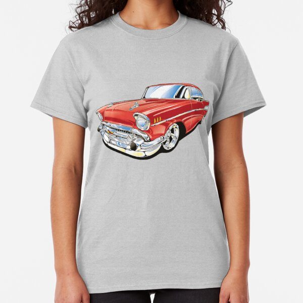 1957 Classic Lowrider Tee Bel Air 57 Script Tail Shirt All Sizes /& Colors