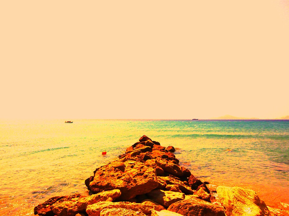 Rocks out to sea... #2 by JoshHardman
