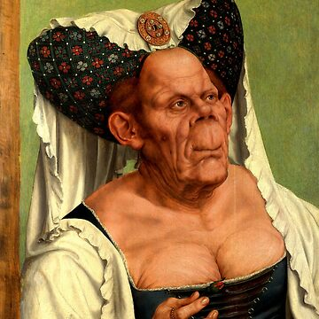 The Ugly Duchess - Quentin Matsys  by BestPaintings