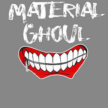 Top Fun Material Ghoul Halloween Design by LGamble12345