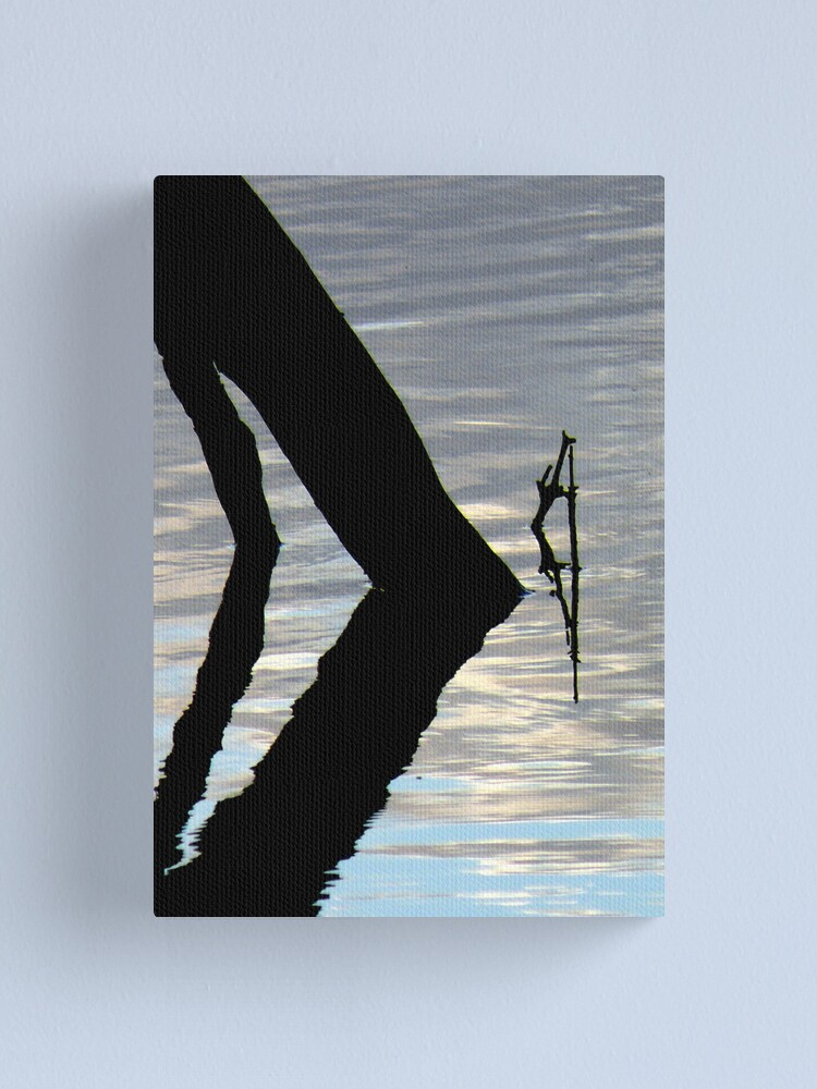 Alternate view of Bend zee Kneez Canvas Print