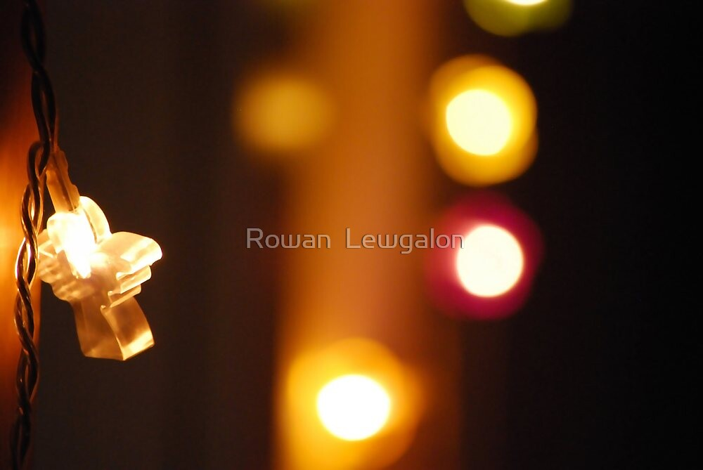 Little angel and lights by Rowan  Lewgalon