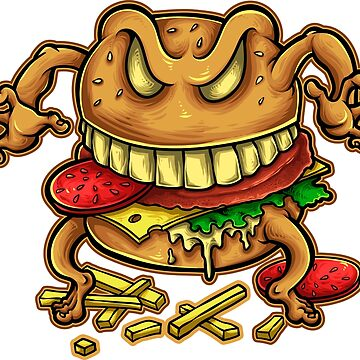 Aggravated Burger by NeonArcade87