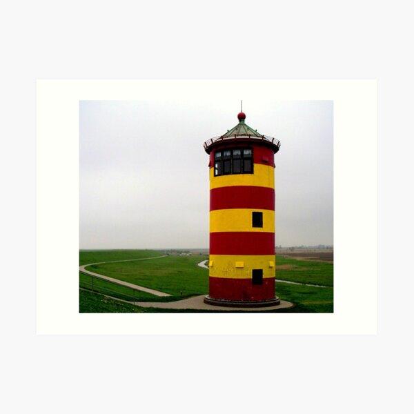 Leuchtturm Kunstdruck