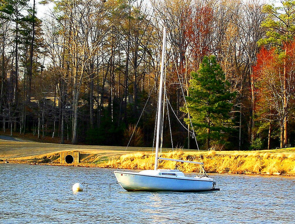 peaceful sail by Gary Mannix