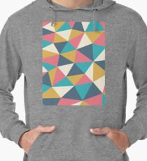 Colorful triangles Leichter Hoodie