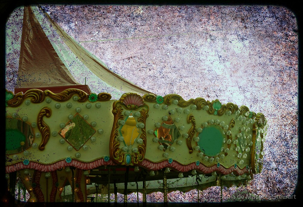 grunge carrousel by Sonia de Macedo-Stewart