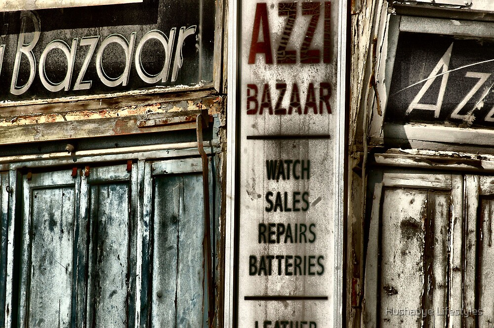 Bazaar - old shop front  by Hushabye Lifestyles