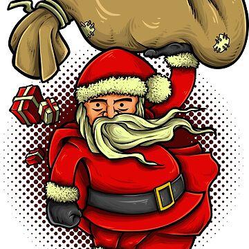 Super Santa by NeonArcade87