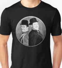 LAUREL AND HARDY, Stan Laurel and Oliver Hardy in their 1939 feature film called The Flying Deuces Unisex T-Shirt