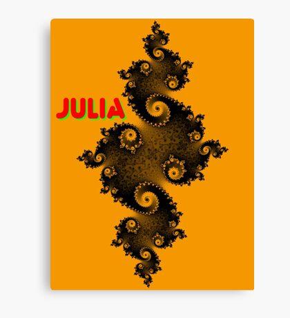 Julia Beautiful Canvas Print