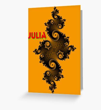 Julia Beautiful Greeting Card