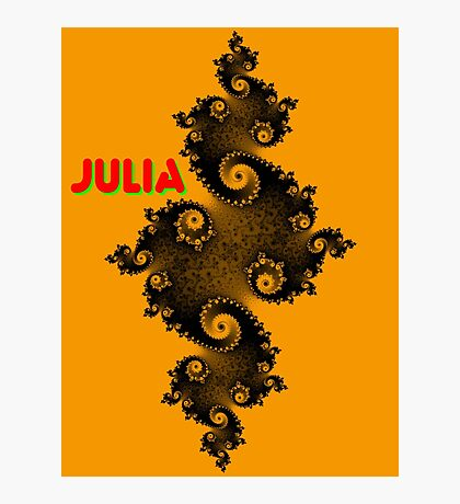Julia Beautiful Photographic Print
