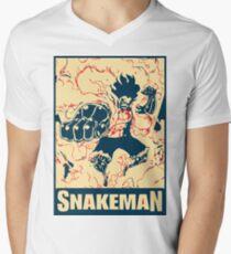 Snakeman Luffy / Gear 4th Men's V-Neck T-Shirt