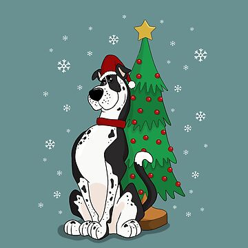 Great Dane Christmas by ValentinaHramov